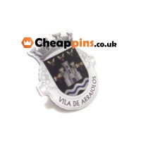 Pins with logos in printing.