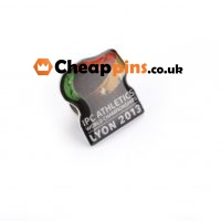 Custom pins with printing image.