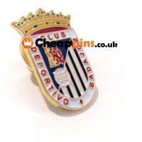 Custom pins of Futbol teams.