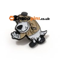 Enamel custom pins.