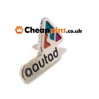 Pins with the logo of your company with enamel colors.