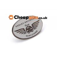 Custom pins of Harley Davidson.