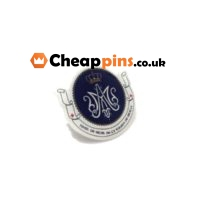 Custom printing pin with the logo of music.
