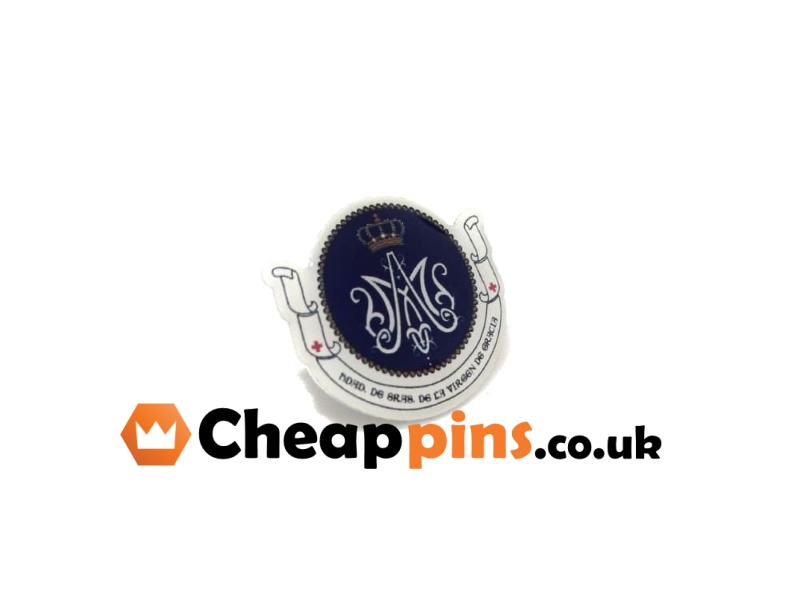 printed-custom-pins-with-logo - Cheappins co uk