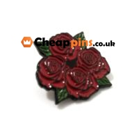 Rose custom pins.