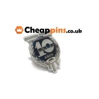 Custom lapel pins for a Technology company.