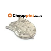 Custom pins with custom logos.
