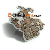 Cheap printing pins.