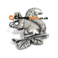 Animal or squirol lapel pin.